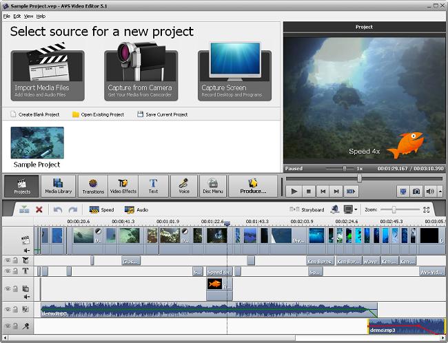 تحميل برنامج Video Editor5 للتعديل