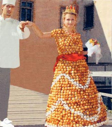 غرائب و عجائب فساتين الزفاف فى العالم 90327alsh3er